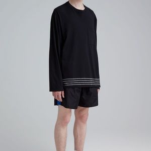 Our Legacy BOX LONGSLEEVE EMBROIDERED STRIPES